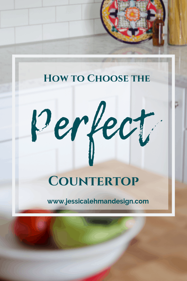 How to choose the perfect countertop for your home