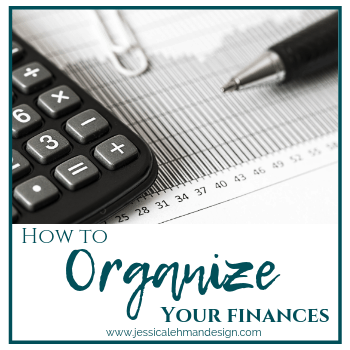 How to organize your finances